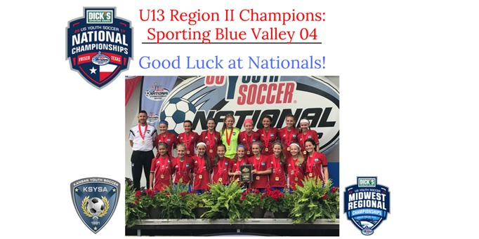 U13 Girls Region II Champions are Sporting...